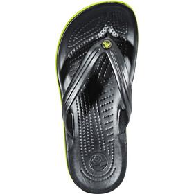 Crocs Crocband sandaalit, graphite/volt green